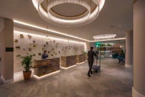 Susan Lake Lighting Design - Hilton Islington