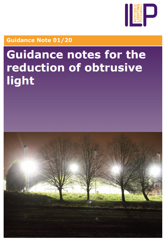 Ilp Publishes New Guide To Obtrusive, The Ile Outdoor Lighting Guide
