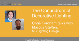 The Conundrum of Decorative Lighting: Marcus Steffen