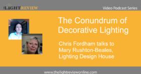 The Conundrum of Decorative Lighting: Mary Rushton-Beales