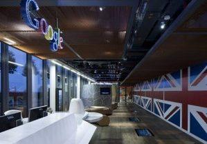 it does Lighting - Google Office, London
