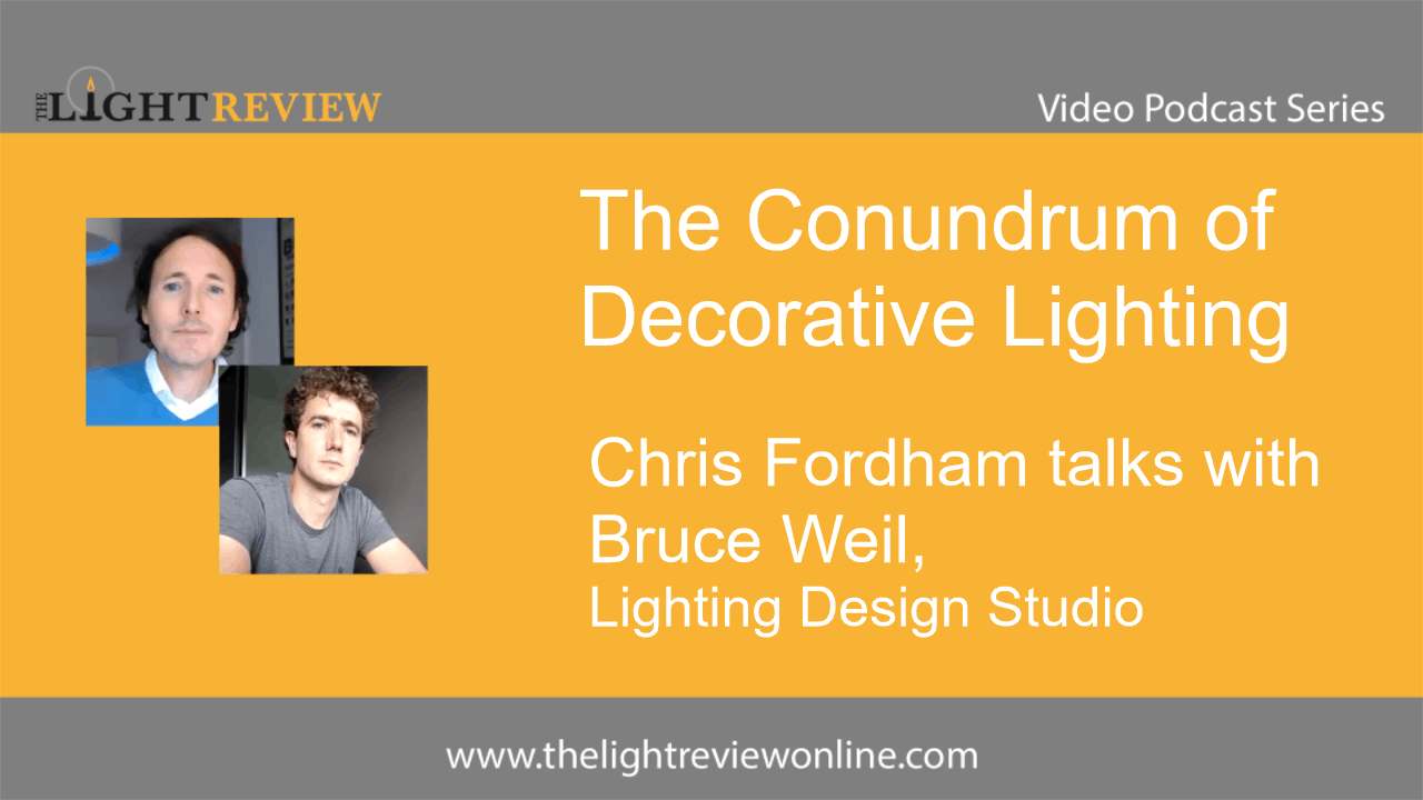 The Conundrum of Decorative Lighting: Bruce Weil