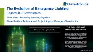 Emergency Lighting Webinar